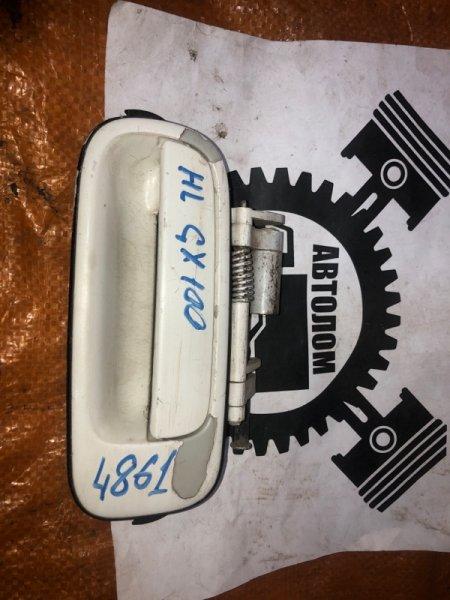 Ручка наружная Toyota Mark Ii GX100 задняя левая (б/у)