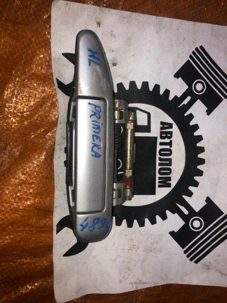 Ручка наружная Nissan Primera задняя левая (б/у)