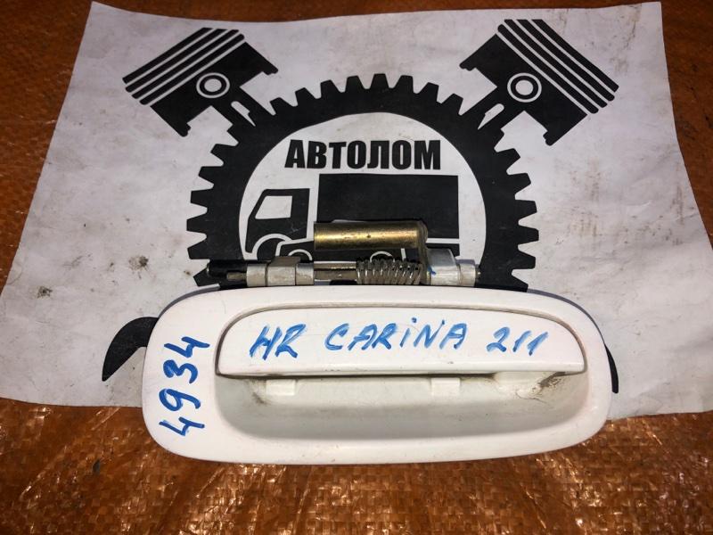 Ручка наружная Toyota Carina AT211 задняя правая (б/у)