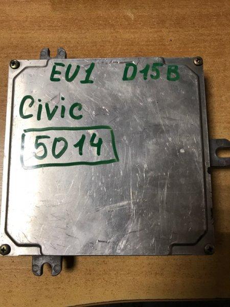 Блок управления двигателем Honda Civic EU1 D15B2 (б/у)