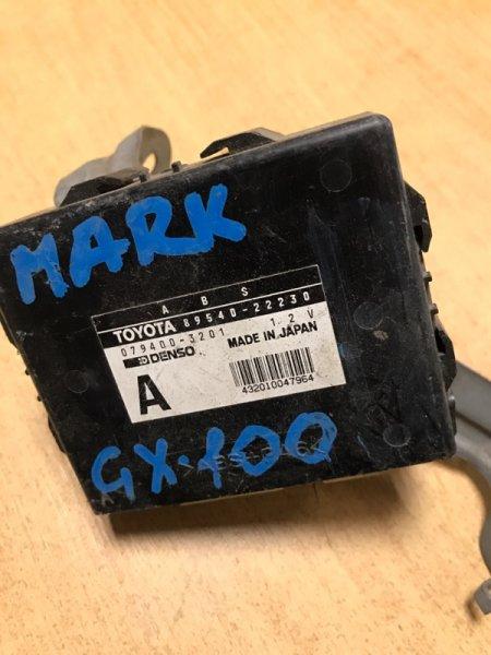 Блок управления abs Toyota Mark Ii GX100 1GFE (б/у)