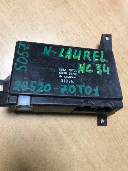 Блок управления климат контролем Nissan Laurel HC34 (б/у)