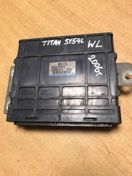 Блок управления efi Mazda Titan SY54L WL 2006 (б/у)
