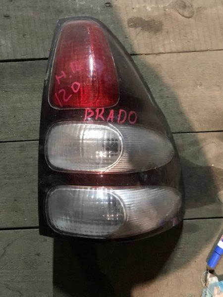 Стоп сигнал Toyota Land Cruiser Prado TCR21 задний правый (б/у)