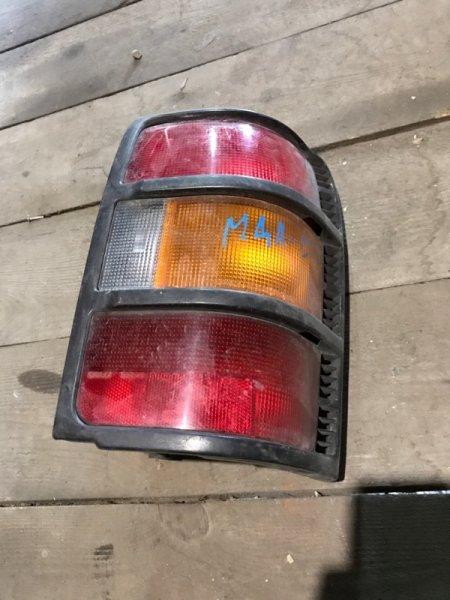 Стоп сигнал Mitsubishi Pajero W46 задний правый (б/у)