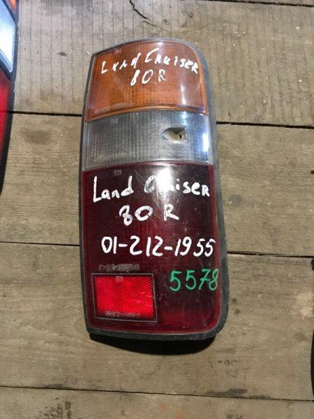 Стоп сигнал Toyota Land Cruiser J80 задний правый (б/у)