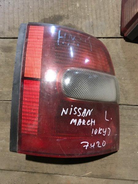Стоп сигнал Nissan March K11 CG10DE задний левый (б/у)