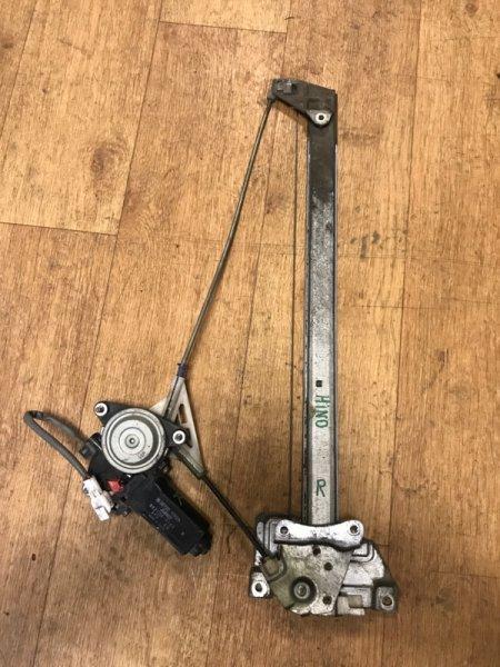 Стеклоподъемник Hino Ranger 1994 передний правый (б/у)