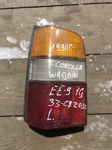 Стоп сигнал Toyota Corolla EE90 задний левый (б/у)