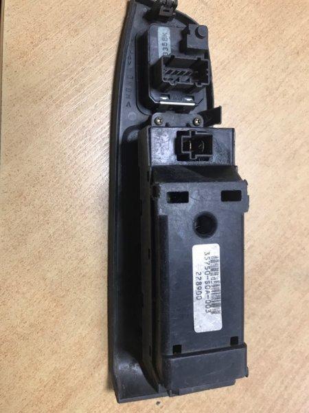 Блок управления стеклоподъемниками Honda Accord CF4 передний правый (б/у)