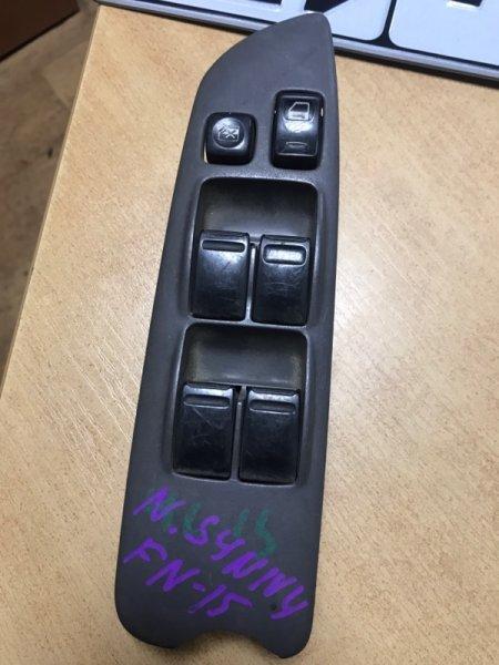 Блок управления стеклоподъемниками Nissan Sunny N15 (б/у)
