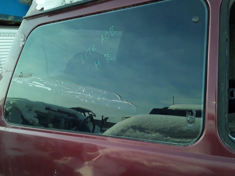 Стекло собачника Toyota Lite Ace M30 2Y 1988 заднее правое (б/у)