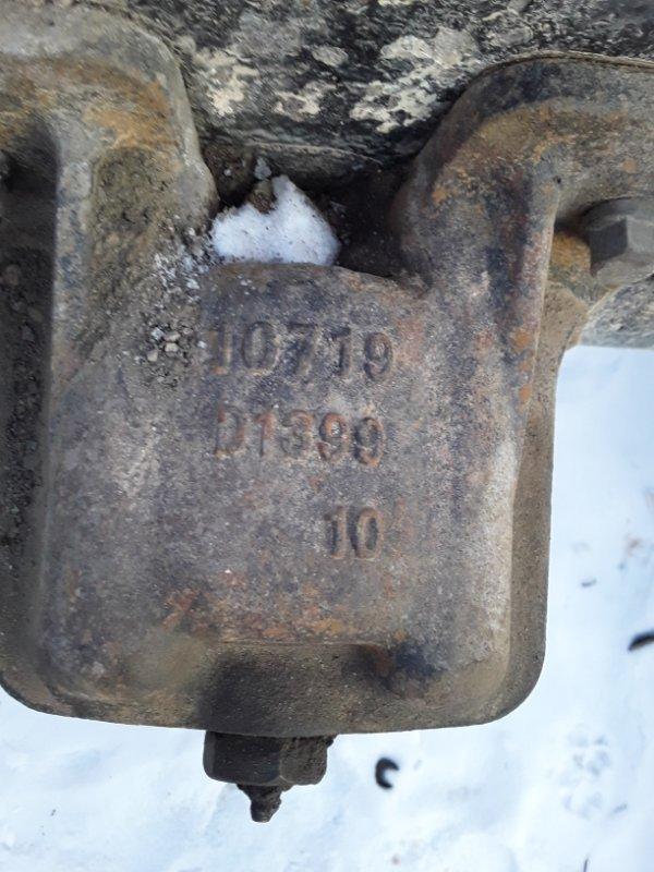 Кронштейн крепление рессоры Isuzu Forward FTR32 6HE1T 1998 задний (б/у)