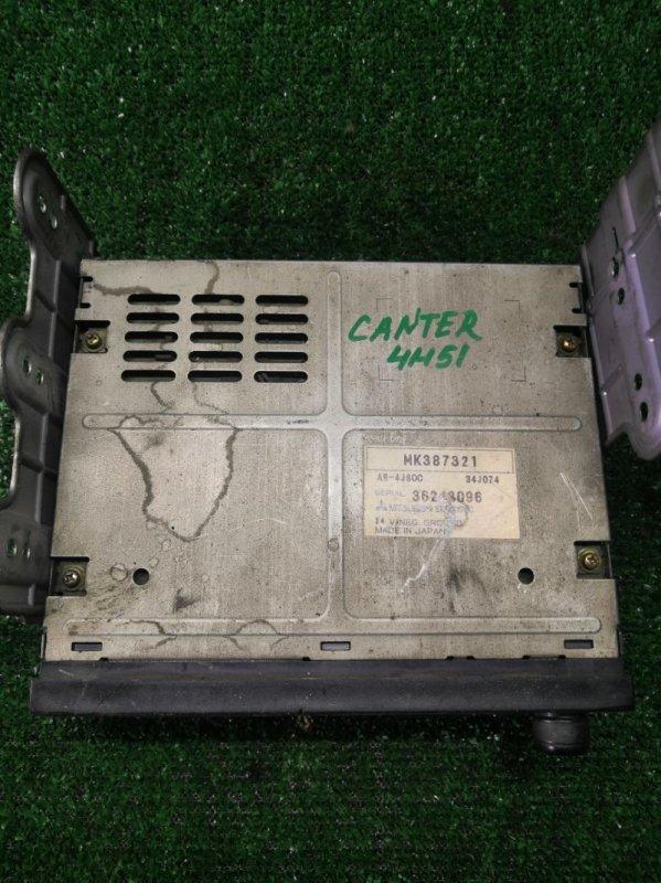 Магнитола Mitsubishi Canter FE73D 4M51 (б/у)