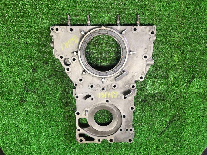 Лобовина двигателя Isuzu 6HK1 (б/у)