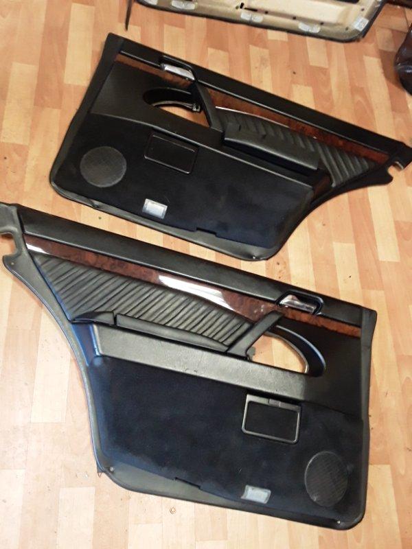 Обшивка двери Mercedes S600 WDB140 M120 1992 (б/у)