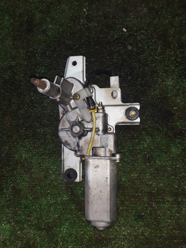 Мотор стеклоочистителя Toyota Land Cruiser Prado 95 5VZ-FE задний (б/у)