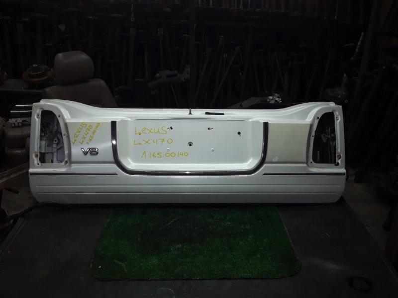 Дверь багажника Lexus Lx470 2UZ-FE 2000 нижняя (б/у)