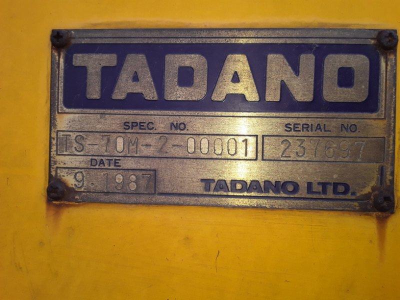 Крановая установка Tadano (б/у)