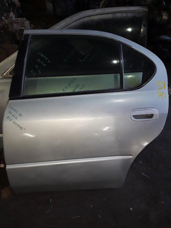 Дверь Toyota Camry SV40 3S-FE задняя левая (б/у)