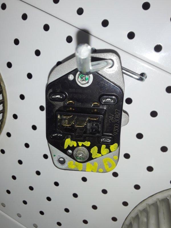 Реостат отопителя Nissan Diesel Ud 1995 (б/у)