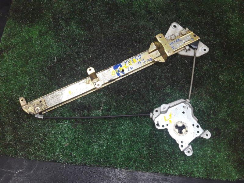 Механизм стеклоподьемника Mitsubishi Canter передний левый (б/у)