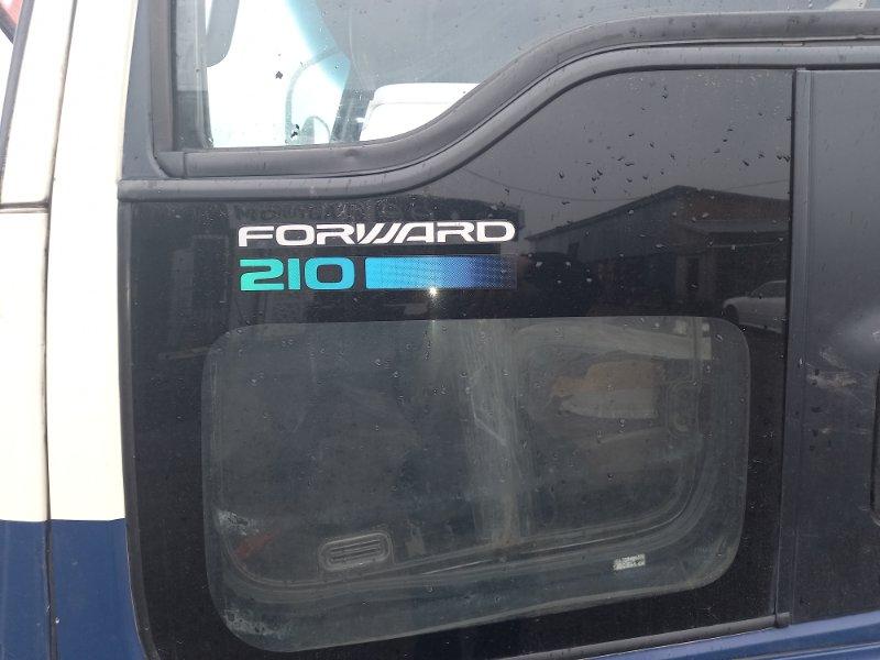 Стекло Isuzu Forward переднее левое нижнее (б/у)