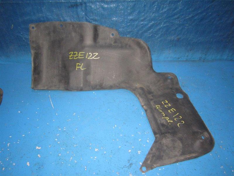 Защита двигателя Toyota Corolla Fielder ZZE122 передняя левая (б/у)