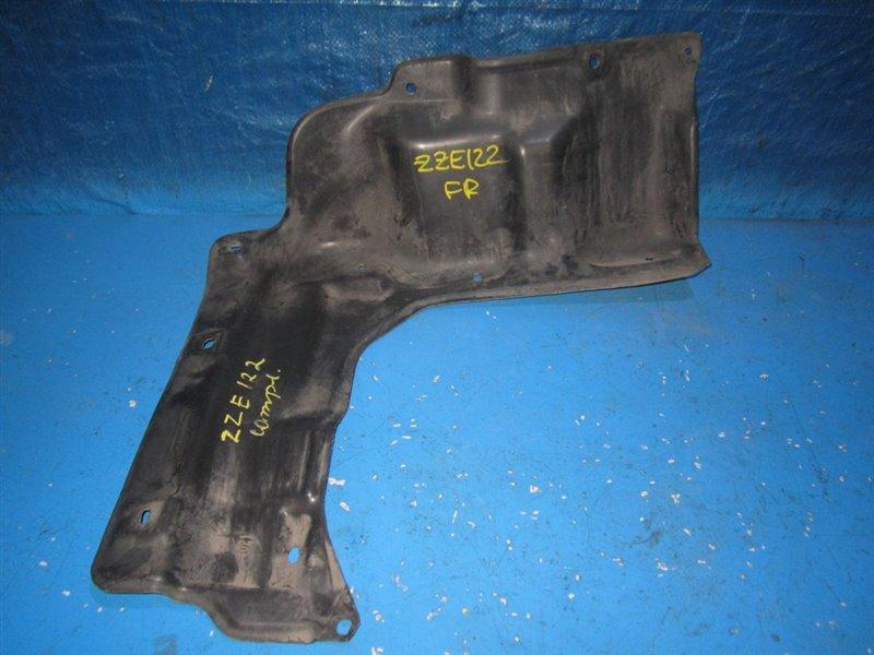 Защита двигателя Toyota Corolla Fielder NZE121 передняя правая (б/у)