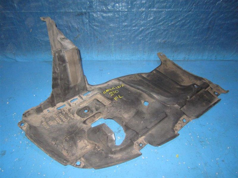 Защита двигателя Toyota Caldina ST210 передняя правая (б/у)