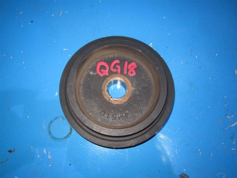 Шкив Nissan Bluebird QU14 QG15DE (б/у)