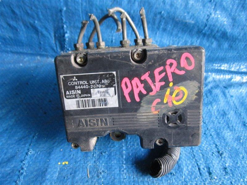 Блок abs Mitsubishi Pajero Io H61W (б/у)