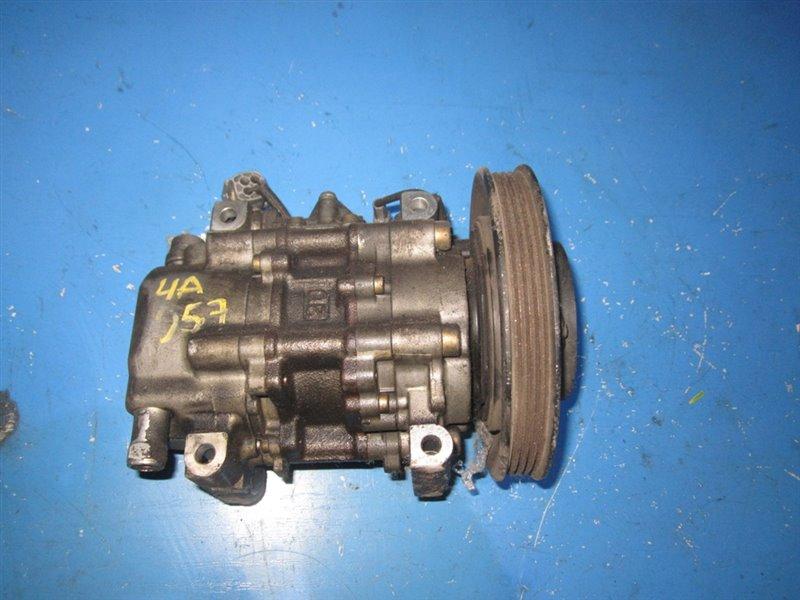 Компрессор кондиционера Toyota Sprinter Carib AE111 4AFE (б/у)