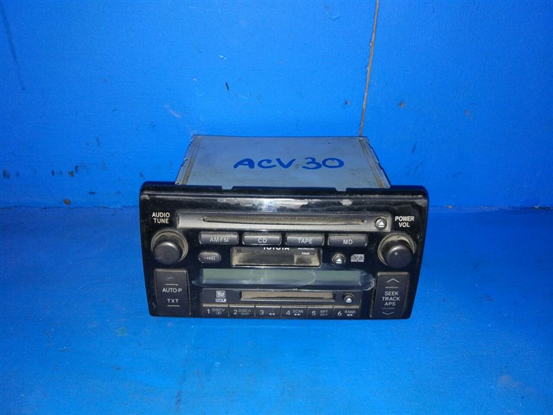 Магнитофон Toyota Camry ACV30 2002 (б/у)