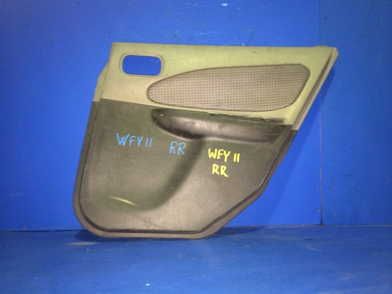 Обшивка дверей Nissan Wingroad WFY11 задняя правая (б/у)