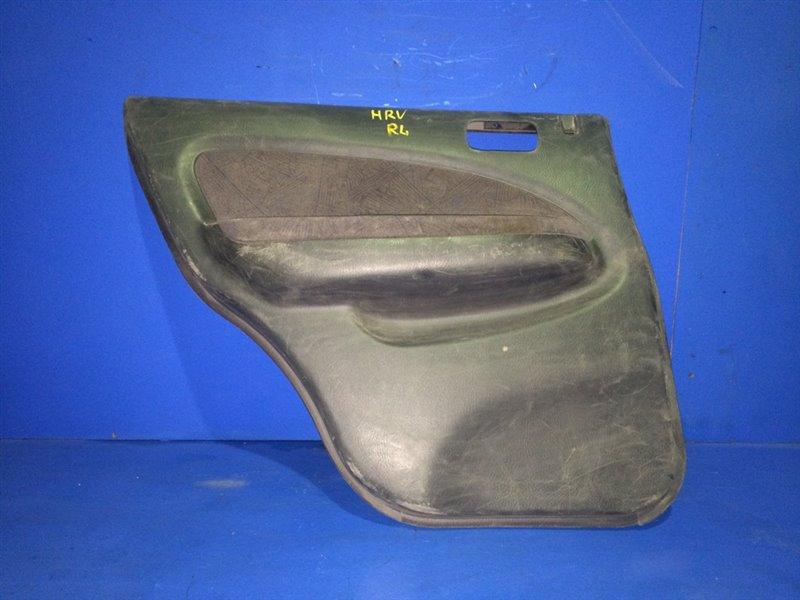 Обшивка дверей Honda Hr-V GH1 задняя левая (б/у)