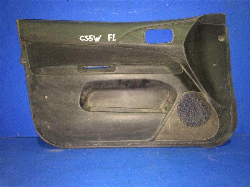 Обшивка дверей Mitsubishi Lancer Cedia CS5W передняя левая (б/у)