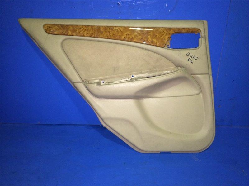 Обшивка дверей Nissan Bluebird Sylphy QG10 задняя левая (б/у)