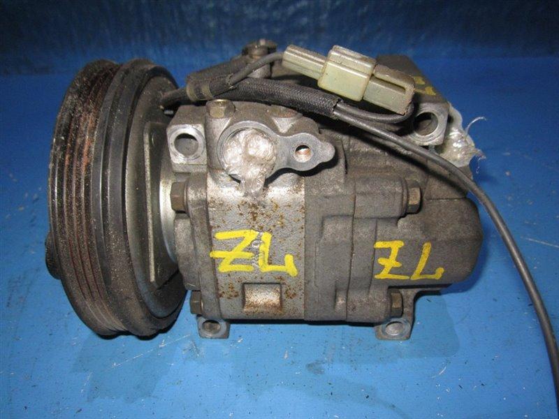 Компрессор кондиционера Mazda Familia BJ5P ZLDE (б/у)