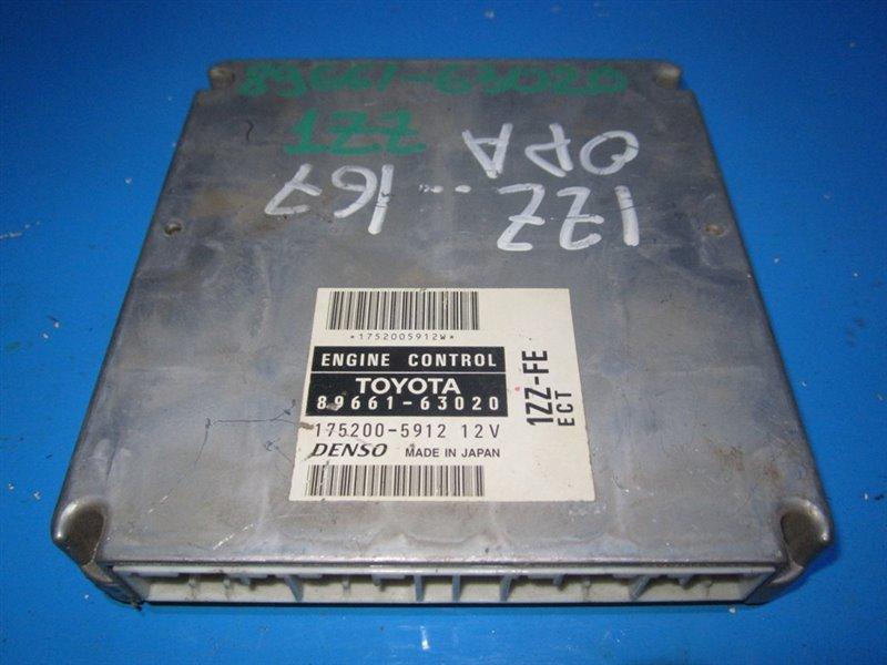 Блок efi Toyota Opa ZCT10 1ZZFE (б/у)
