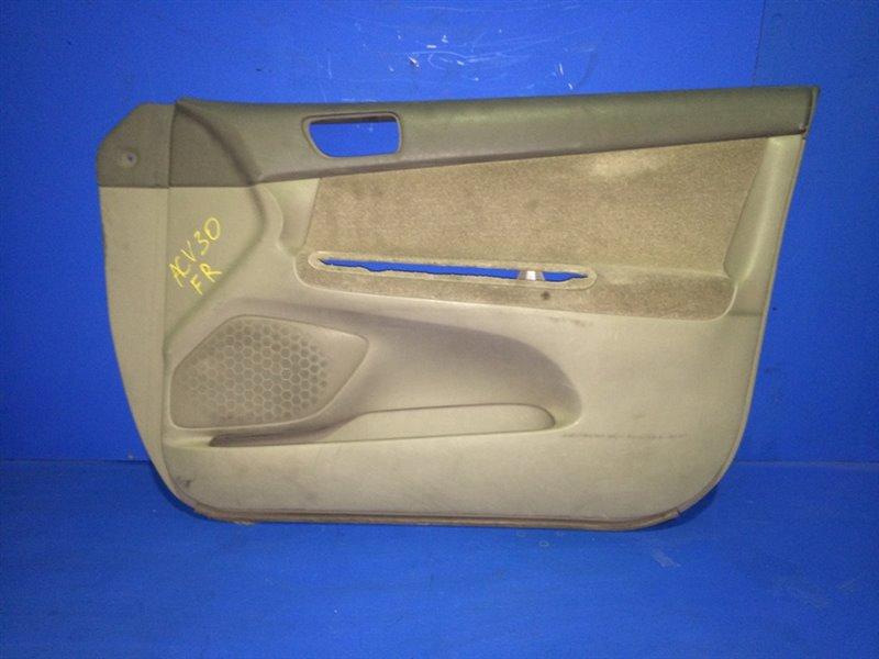Обшивка дверей Toyota Camry ACV30 передняя правая (б/у)