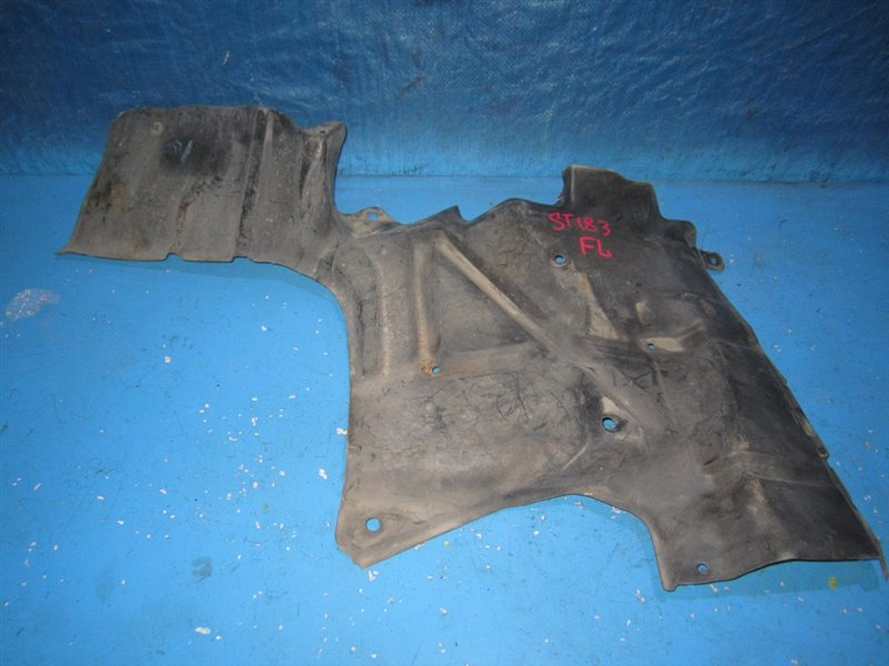 Защита двигателя Toyota Corona Exiv ST182 передняя левая (б/у)