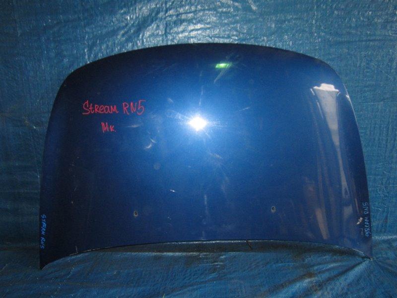 Капот Honda Stream RN1 2004 передний (б/у)