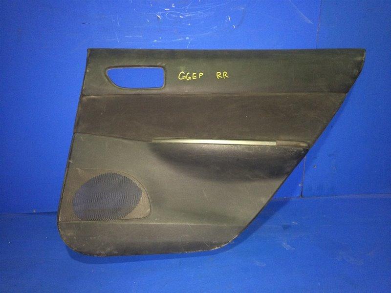 Обшивка дверей Mazda Atenza GGEP задняя правая (б/у)