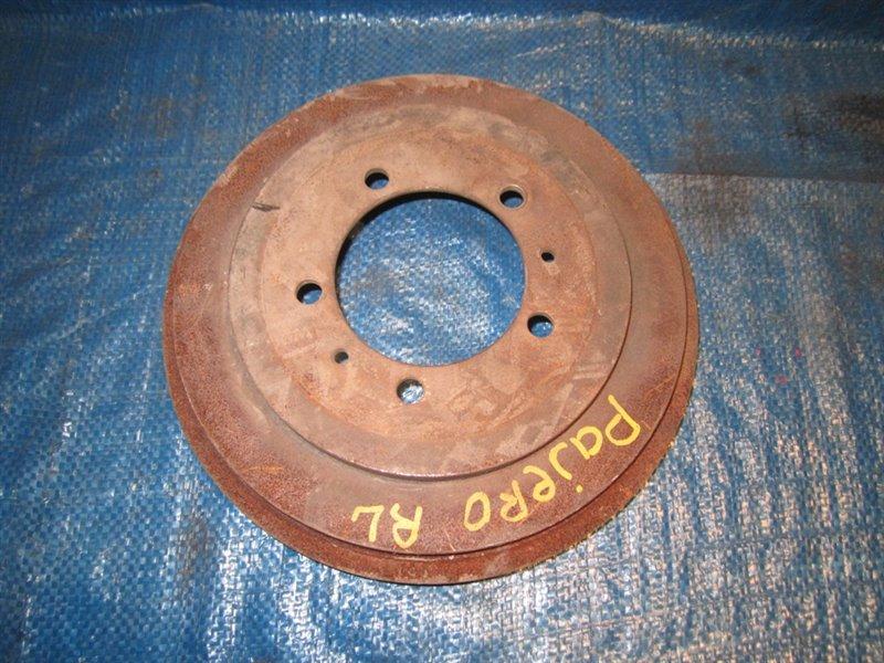 Тормозной диск Mitsubishi Pajero задний (б/у)