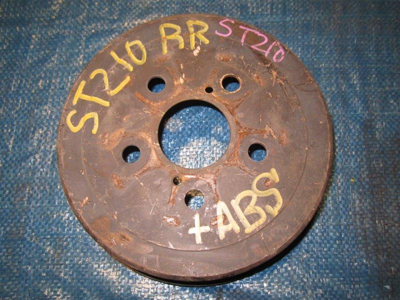Тормозной диск Toyota Caldina ST210 задний (б/у)