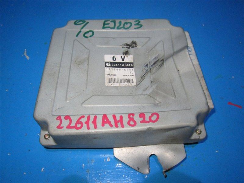 Блок efi Subaru Legacy BP5 EJ203 (б/у)