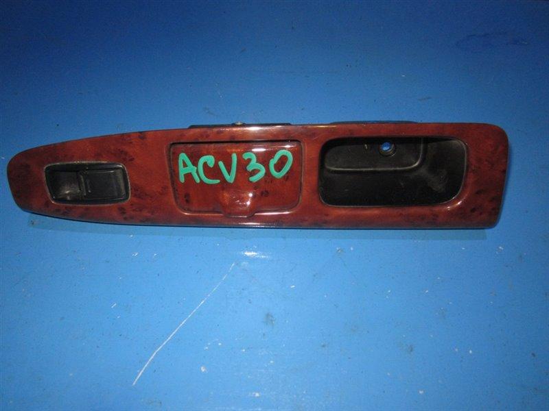 Блок упр. стеклоподьемниками Toyota Camry ACV30 передний левый (б/у)
