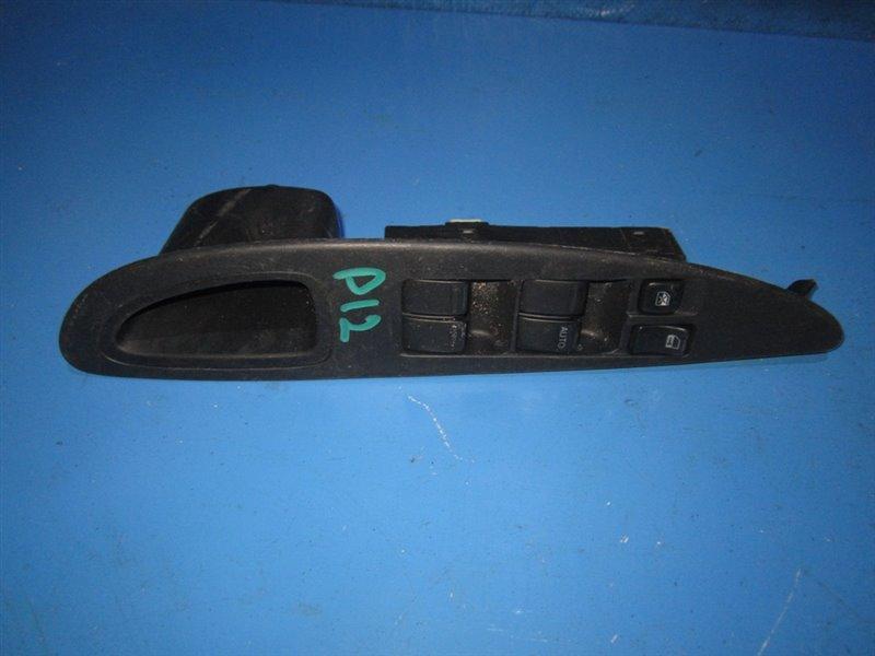 Блок упр. стеклоподьемниками Nissan Primera P12 передний правый (б/у)
