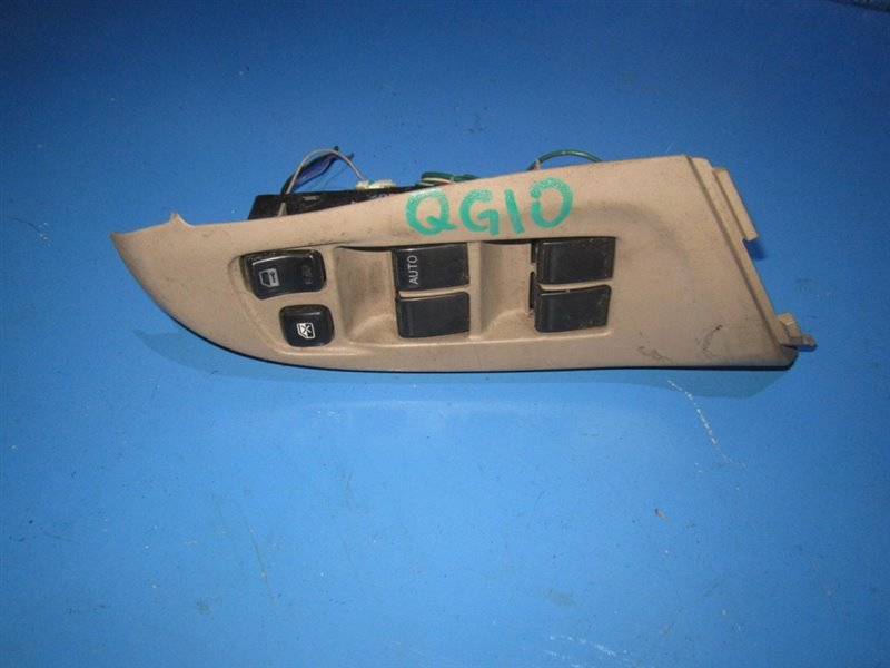 Блок упр. стеклоподьемниками Nissan Bluebird Sylphy QG10 передний правый (б/у)